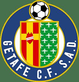 Imagen del escudo del Getafe CF