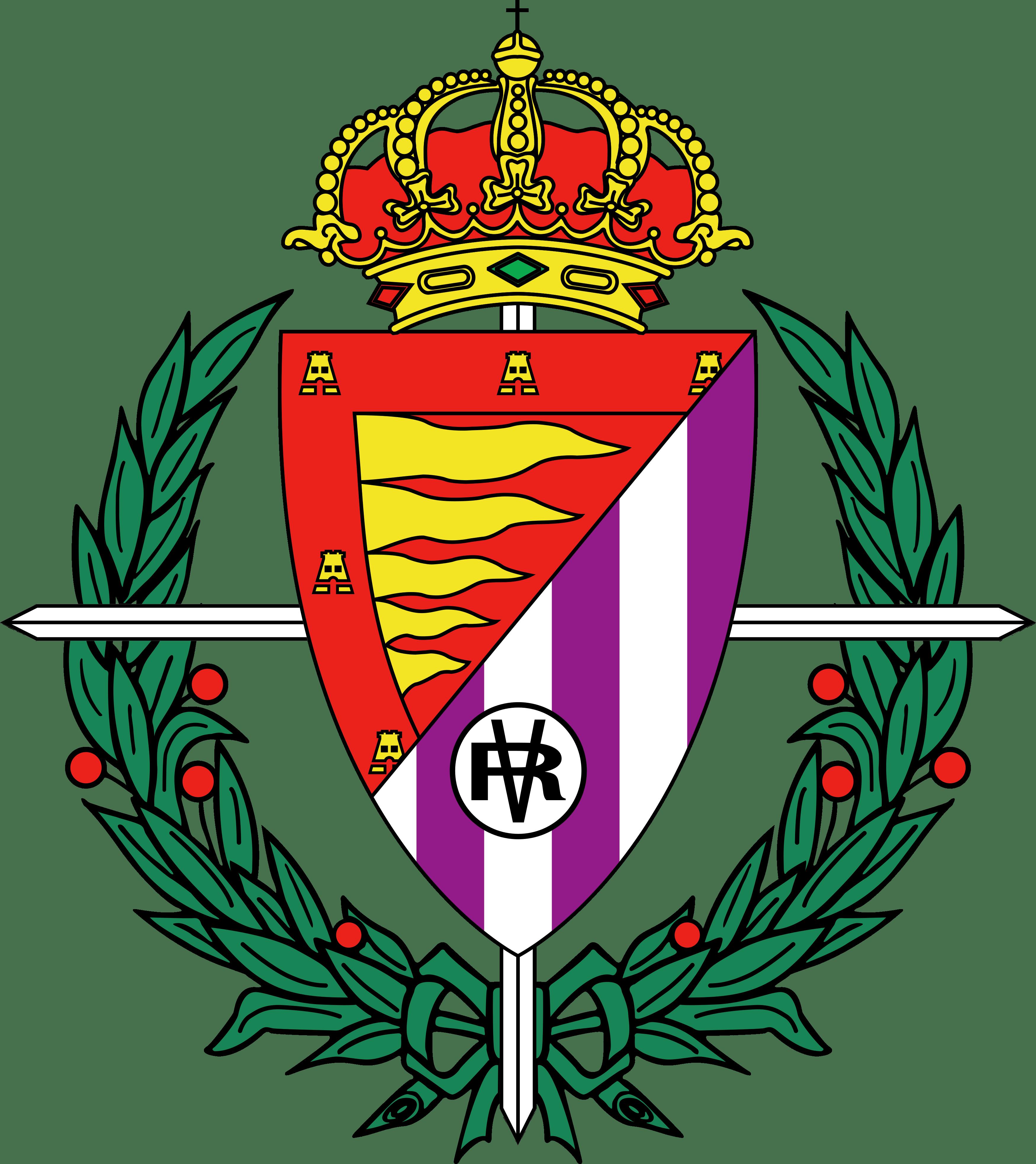 Imagen del escudo del Real Valladolid