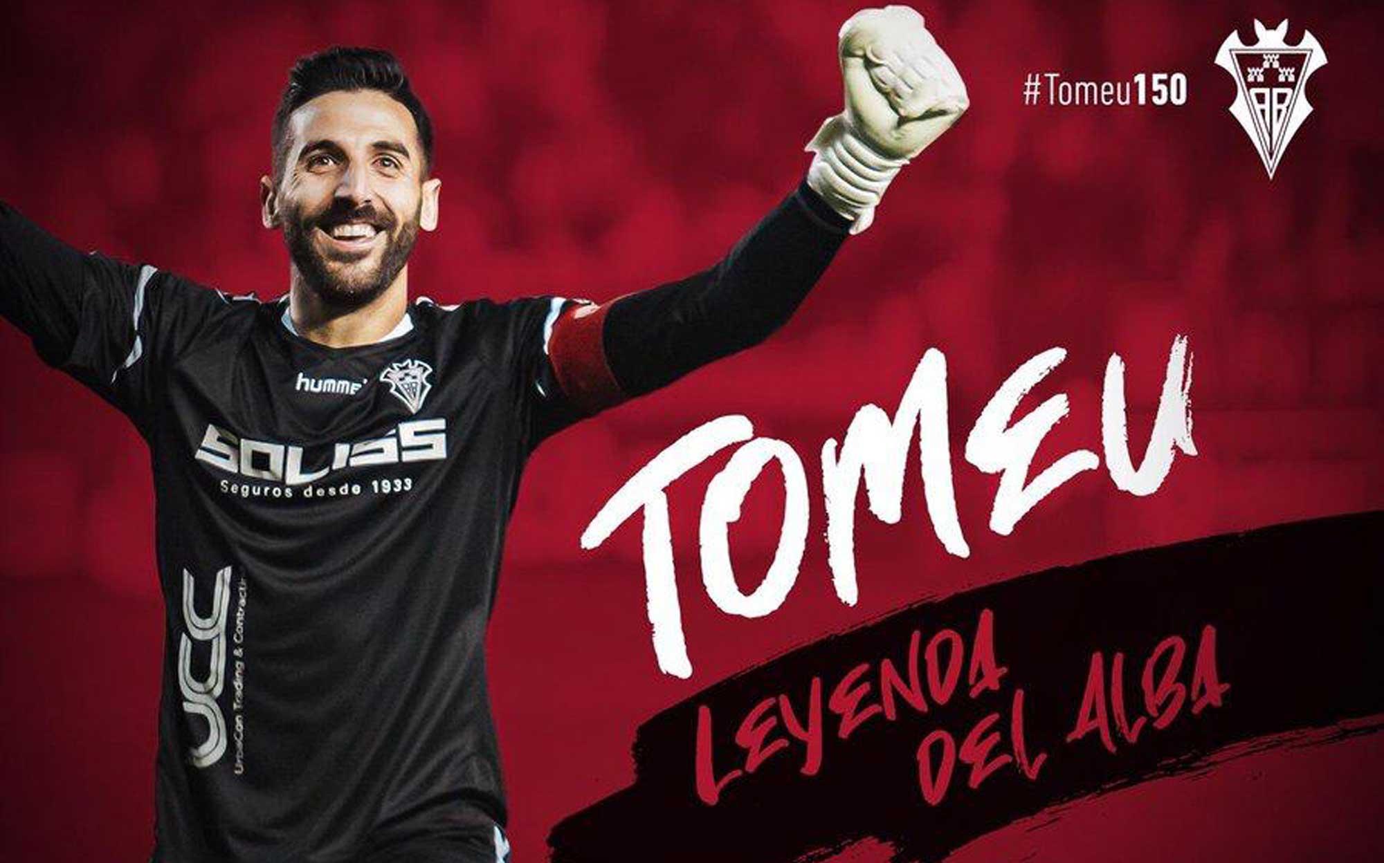 Imagen de Tomeu Nadal, leyenda del Albacete con 150 partidos