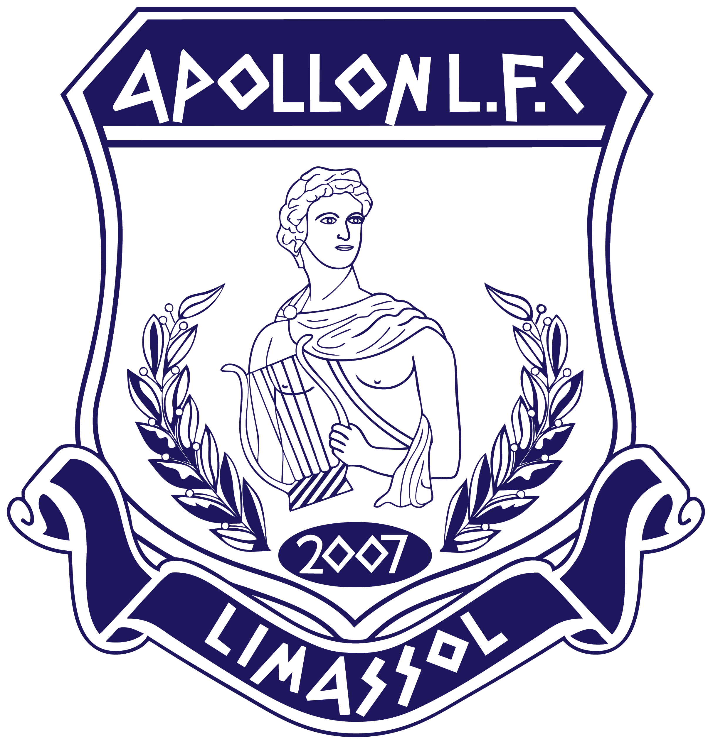 Imagen del escudo del Apollon de Limssol