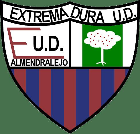 Imagen del escudo del club de fútbol Extremadura UD