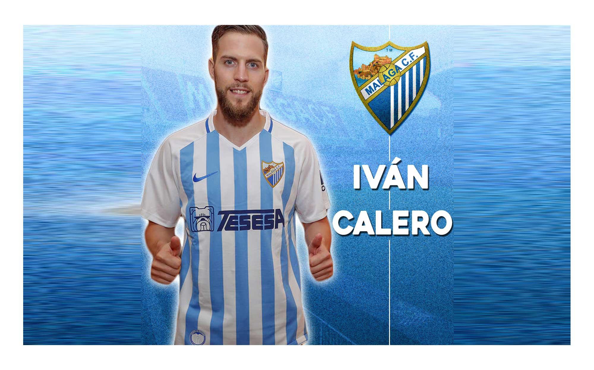 Imagen de Iván Calero en el Málaga CF