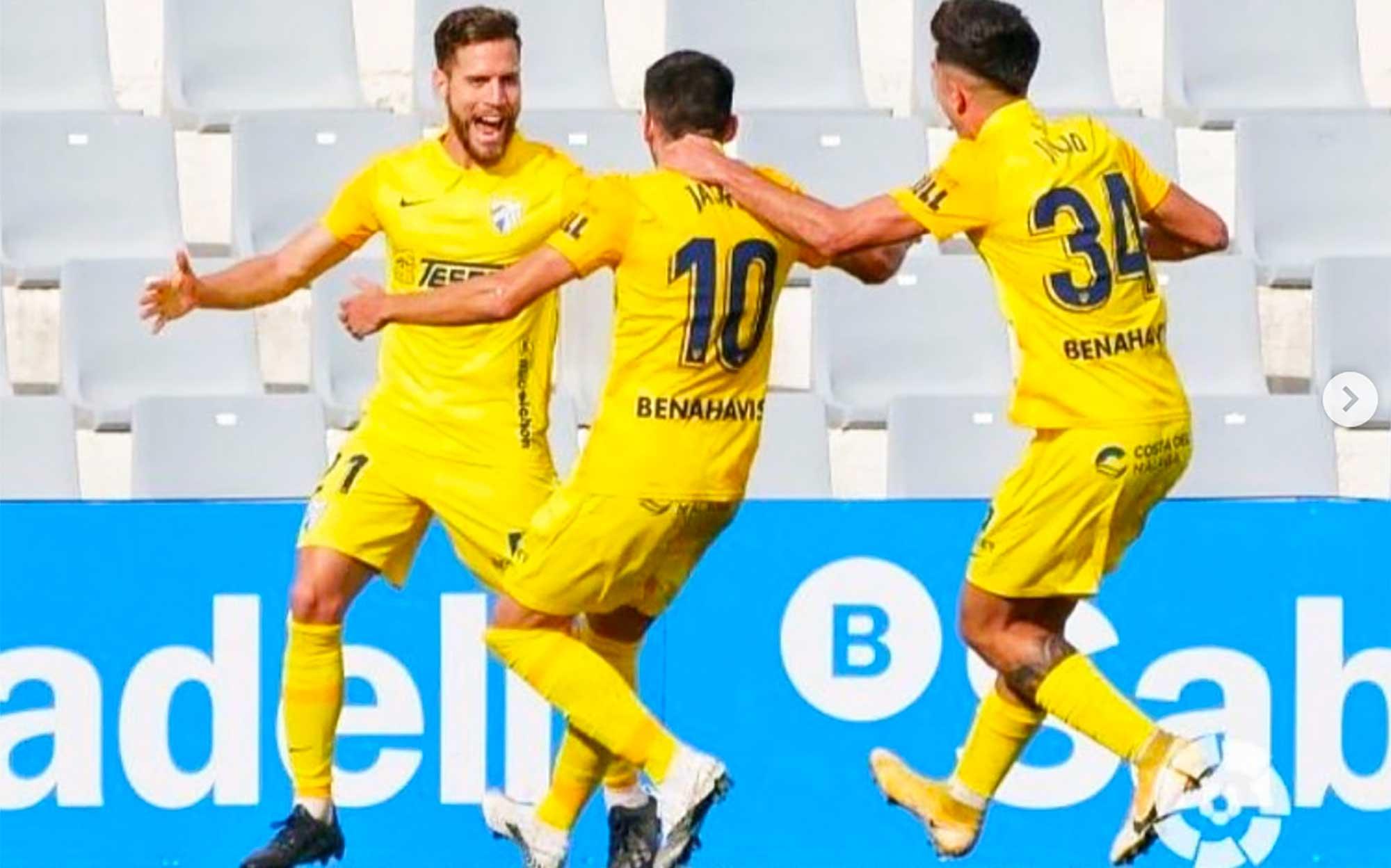 Imagen de Iván Calero después de marcar gol
