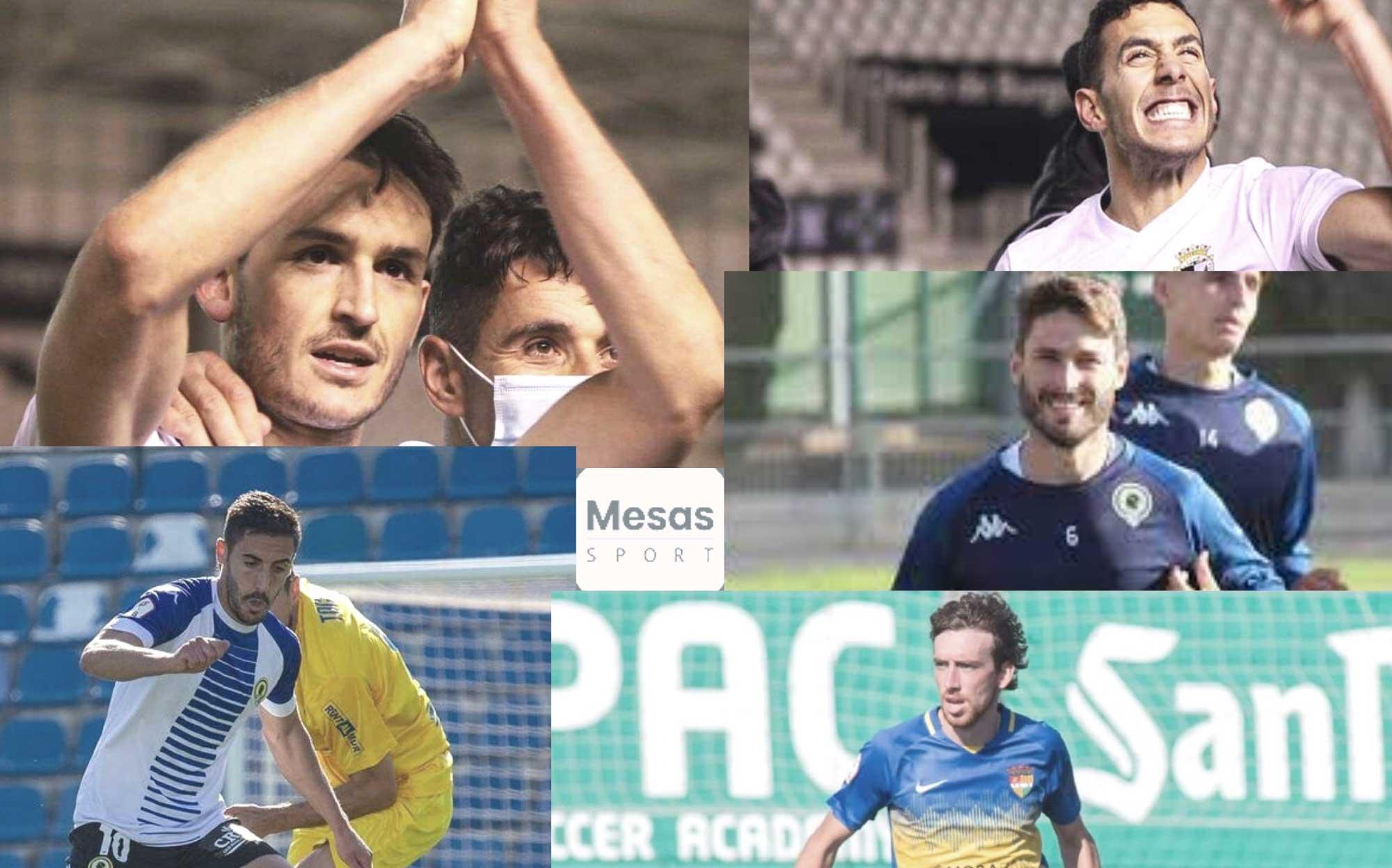 Imagen de futbolistas Mesas Sport